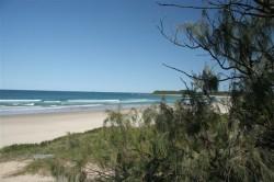 Beach at Fraser Reef