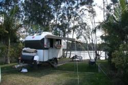 Camp at Wooli