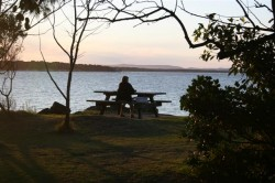 Evening Picnic at Woody Head