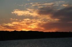 Sunset over Shark Bay