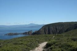 130320 Cliffs of Quiet Bay Bruny Island Med