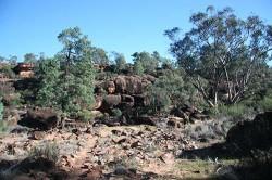 20140624-Rock Art Escarpment Gundabooka NP Med