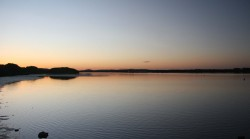 20150803 Sunset on Clarence River Yamba Med