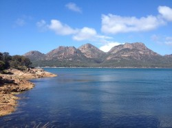 20160317 Freycinet NP from Coles Bay Med