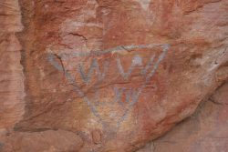 20170718-4062 William Wright's Mark in Wright's Cave 1862 Med