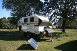 Camp at Iluka