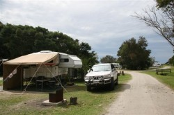 Camp at Woody Head (Small)