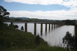 Eildon Dam at Bonnie Doon Oct 2010 (Medium)