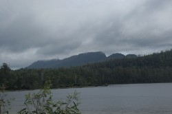130315 Mt Olympus Across Lake St Clair Med