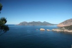 130325 View South from Cape Tourville Freycinet NP