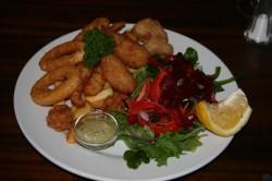 Seafood Platter at McEvoy Tavern Eldorado Med