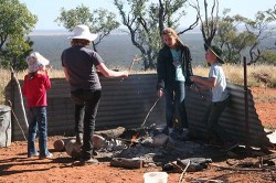 20140626-Schoolchildren Cooking at Mt Oxley Med