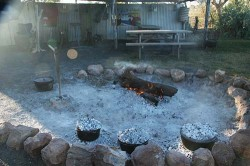 20140705-Campfire Cooking at Quilpie Med