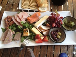 20160324 Platter at Goaty Hill Winery Med